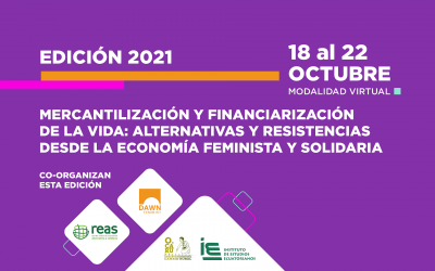 Escuela de Economía Feminista / Edición 2021