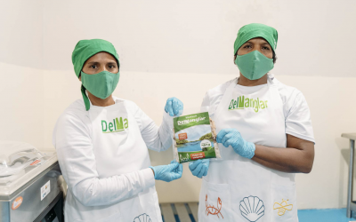 Cangrejeros y concheros emprenden y crean Mansur del Manglar para comercializar productos empacados al vacío