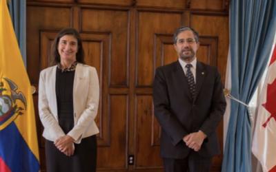 Ecuador y Canadá se encaminan a luchar contra la pesca ilegal