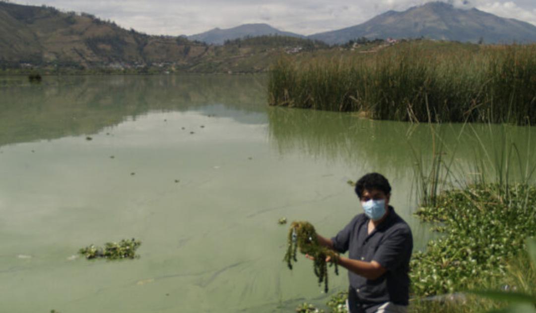 Tres acciones priorizadas para remediación ambiental de la laguna de Yahuarcocha
