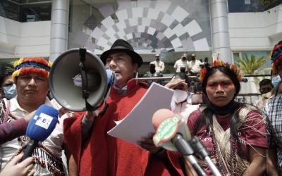 Presentan demanda constitucional contra Guillermo Lasso por pretender expandir frontera extractiva en la Amazonía ecuatoriana