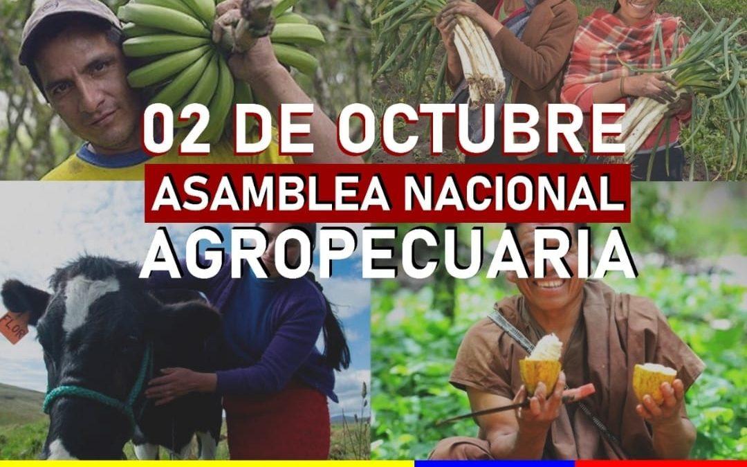 Resoluciones de la Asamblea Nacional Agropecuaria